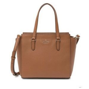 Kate Spade Jackson Medium Satchel Bag Brown $359